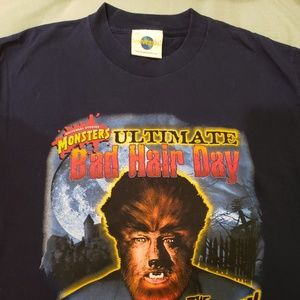 Universal Shirts - Vintage Universal studios The Wolfman tshirt